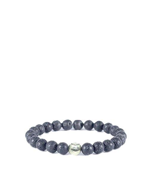 Bracelet perles de lave – petit modèle