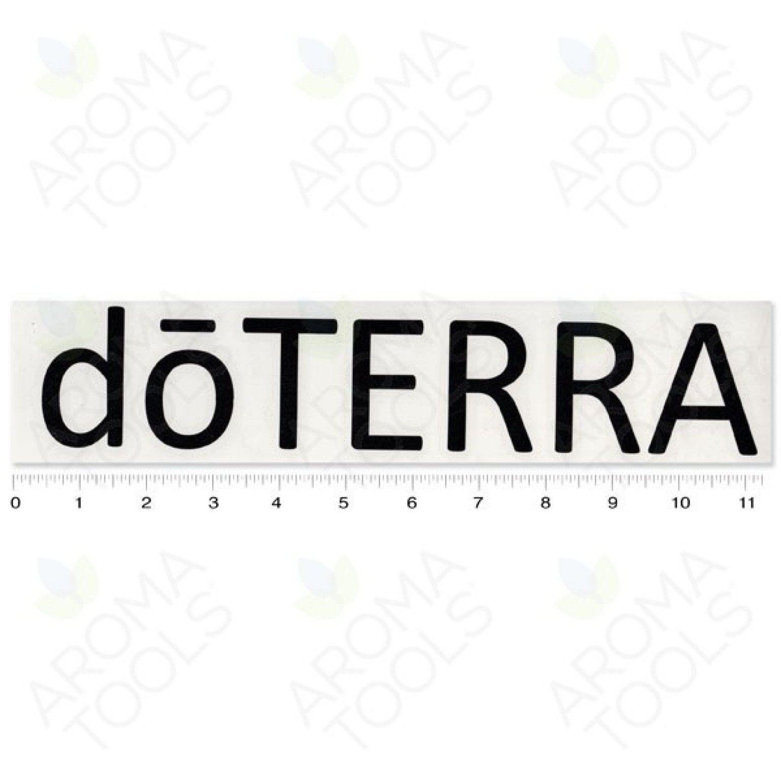 Etiquette doTERRA® – vinyle (noir)