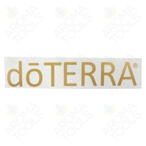 Etiquette doTERRA® – vinyle (doré)