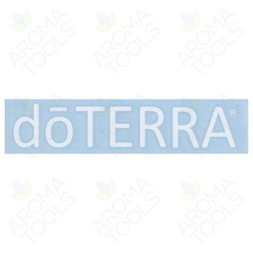 Etiquette doTERRA® – vinyle  (blanc)