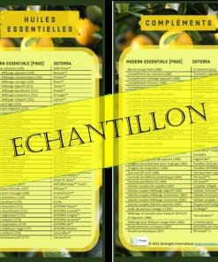 Marque-page noms Modern Essentials 12 édition et doTERRA (lot de 10)